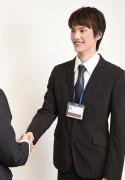 ビジネススーツの男性8