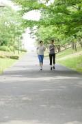 ジョギング女性1