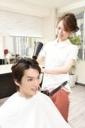 ドライする美容師2