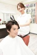 ドライする美容師3